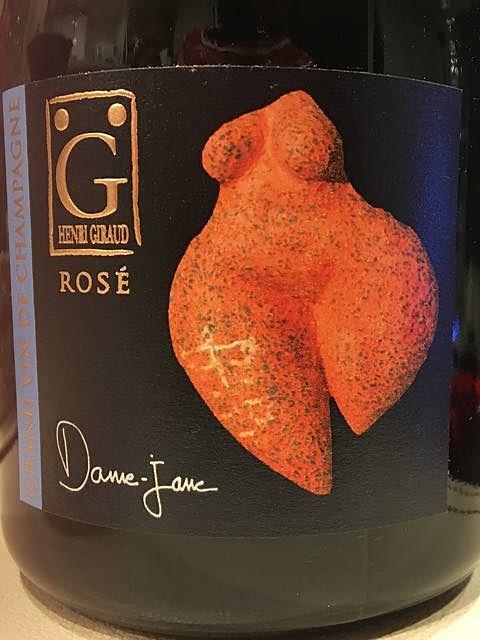 Henri Giraud Rosé Dame Jane