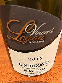 Vincent Legou Bourgogne Pinot Noir(ヴァンサン・ルグー ブルゴーニュ ピノ・ノワール)