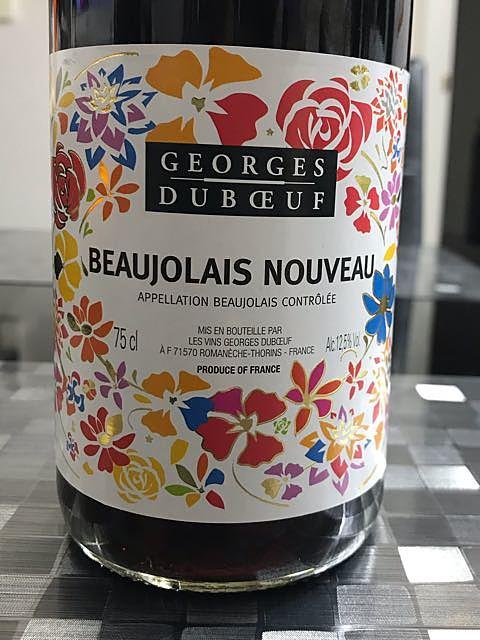 Georges Duboeuf Beaujolais Nouveau(ジョルジュ・デュブッフ ボージョレ・ヌーヴォー)