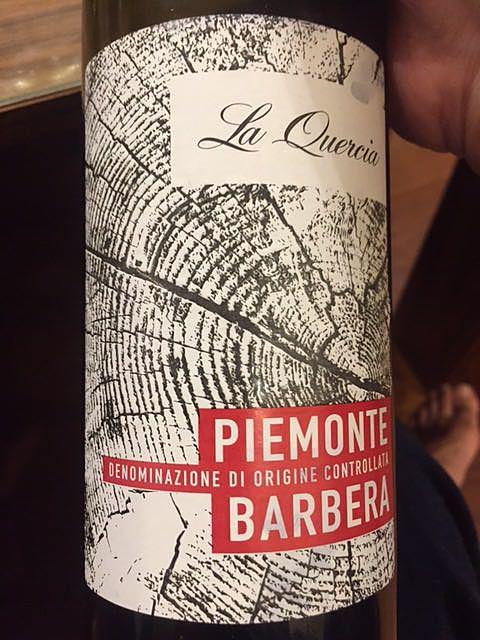 La Quercia Piemonte Barbera