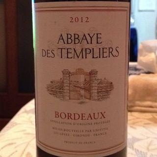 Abbaye des Templiers Bordeaux Rouge
