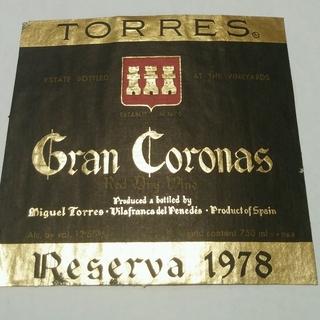 Torres Gran Coronas Reserva Cabernet Sauvignon