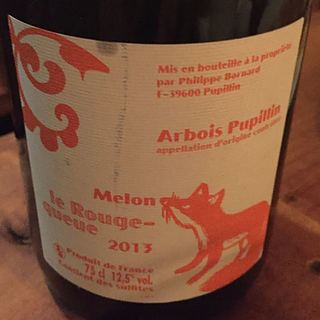 Philippe Bornard Arbois Pupillin Melon Le Rouge Queue