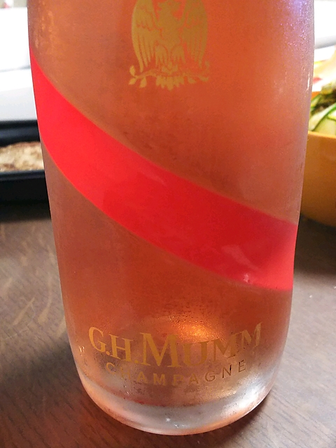 G.H.Mumm Brut Rosé(G.H.マム ブリュット ロゼ)