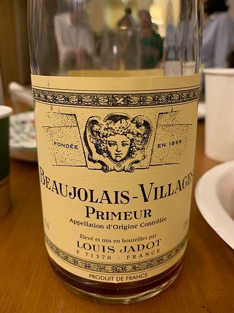 Louis Jadot Beaujolais Villages Primeur(ルイ・ジャド ボージョレ・ヴィラージュ プリムール)