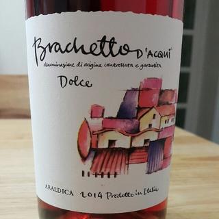 Araldica Brachetto d'Aqui Dolce(アラルディカ ブラケット・ダックイ ドルチェ)