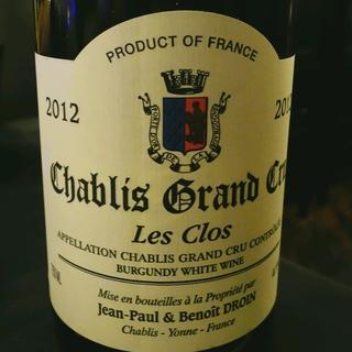 Jean Paul & Benoit Droin Chablis Grand Cru Les Clos