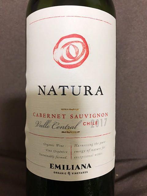 Emiliana Natura Cabernet Sauvignon(エミリアーナ ナチューラ カベルネ・ソーヴィニヨン)