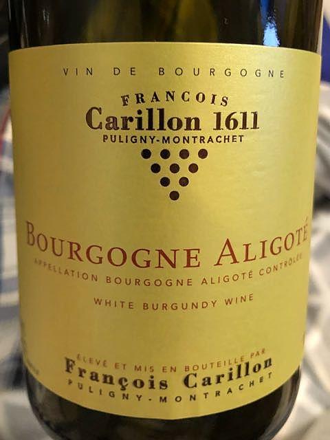 François Carillon Bourgogne Aligoté
