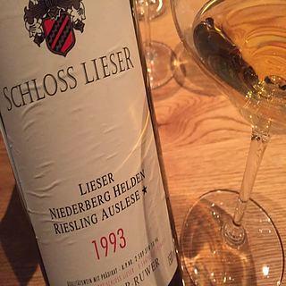 Schloss Lieser Lieser Niederberg Helden Riesling Auslese*(シュロス・リーザー リーザー ニーダーベルグ・ヘルデン リースリング アウスレーゼ)