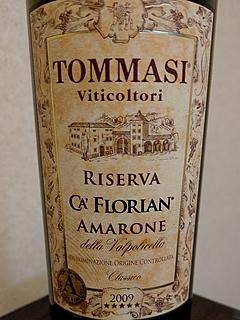 Tommasi Viticoltori Ca' Florian Amarone Riserva(ンマージ・ヴィティコルトーリ カ・フローリアン アマローネ・リゼルヴァ)