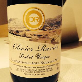 Olivier Ravier Beaujolais Villages Nouveau Suel et Unique