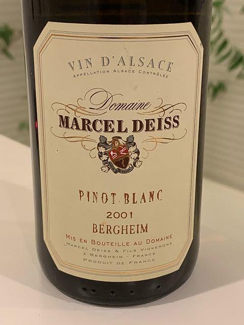 Marcel Deiss Pinot Blanc Bergheim