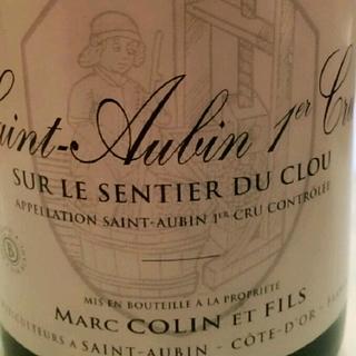 Marc Colin et Fils Saint Aubin 1er Cru Sur Le Sentier du Clou