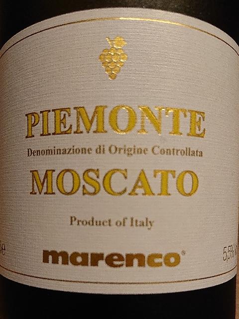 Marenco Piemonte Moscato(マレンコ ピエモンテ モスカート)