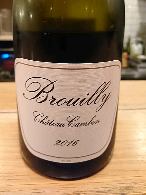 Ch. Cambon Brouilly