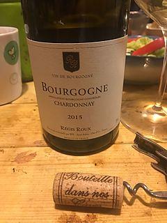 Régis Roux Bourgogne Chardonnay(レジス・ルー ブルゴーニュ シャルドネ)