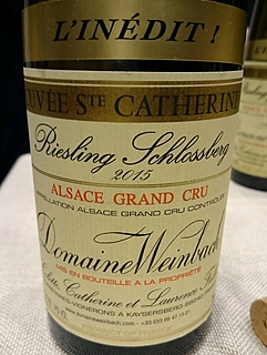 Dom. Weinbach Riesling Schlossberg Grand Cru Cuvée Sainte Catherine