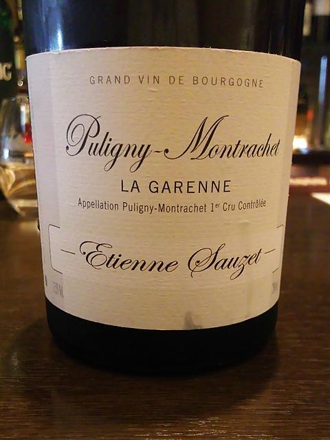 Etienne Sauzet Puligny Montrachet la Garenne