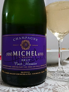 José Michel & Fils Brut Pinot Meunier(ジョゼ・ミシェル・エ・フィス ブリュット ピノ・ムニエ)
