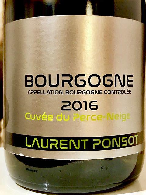Laurent Ponsot Bourgogne Cuvée du Perce Neige