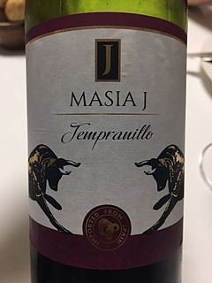 Masia J Tempranillo(マジア・ジェイ テンプラニーリョ)