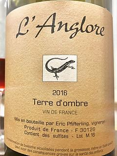 Dom. l'Anglore Terre d'Ombre