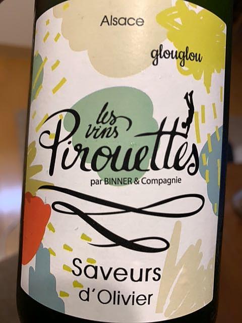 Les Vins Pirouettes Saveurs d'Olivier Glouglou(レ・ヴァン・ピルエット サヴール・ドリヴィエ グルグル)