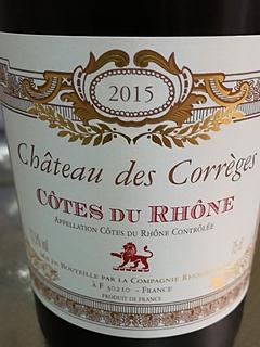 Ch. des Corrèges Côtes du Rhône Rouge(シャトー・デ・コレージュ コート・デュ・ローヌ ルージュ)
