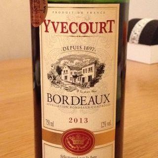 Yvecourt Bordeaux Rouge