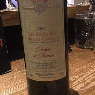 Poggio Bonelli Vin Santo del Chianti Classico Occhio di Pernice