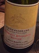 ジェラール・シュレール リースリング グラン・クリュ プェルシックベルグ(2001)