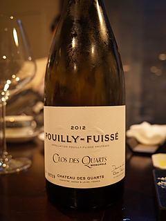 Ch. des Quarts Pouilly Fuissé Clos des Quarts(シャトー・デ・カール プイィ・フュイッセ クロ・デ・カール)