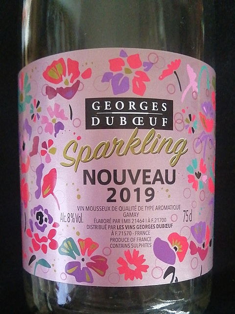 Georges Duboeuf Sparkling Nouveau Gamay