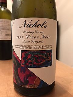Nichols Monterey County Pinot Noir Pisoni Vineyards