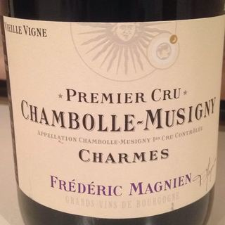 Frédéric Magnien Chambolle Musigny 1er Cru Charmes Vieille Vigne