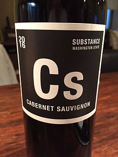 Substance Cs Columbia Valley Cabernet Sauvignon(サブスタンス コロンビア・ヴァレー カベルネ・ソーヴィニヨン)