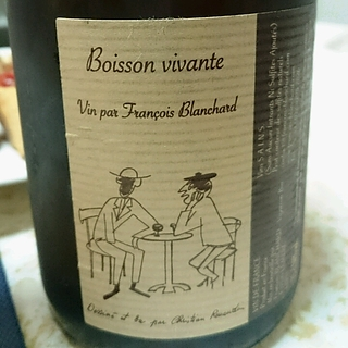 François Blanchard Boisson Vivante Blanc Gewürztraminer