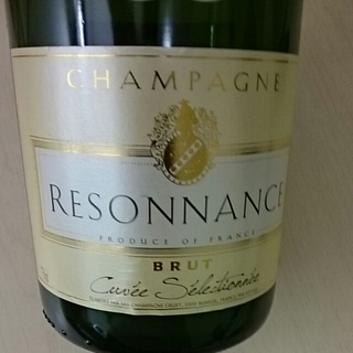 Champagne Resonnance Brut Cuvée Sélectionnée(シャンパーニュ・レゾナンス ブリュット キュヴェ・セレクショネ)