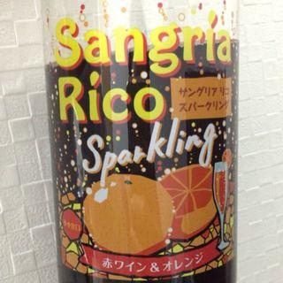 サッポロ Sangria Rico Sparkling 赤