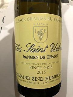 Dom. Zind Humbrecht Clos Saint Urbain Rangen de Thann Pinot Gris