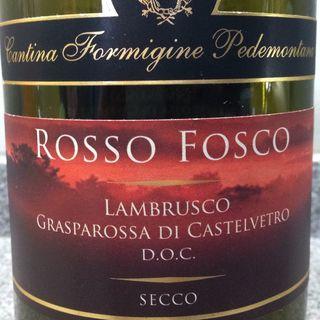 Cantina Formigine Pedemontana Lambrusco Grasparossa di Castelvetro Rosso Fosco Seccco