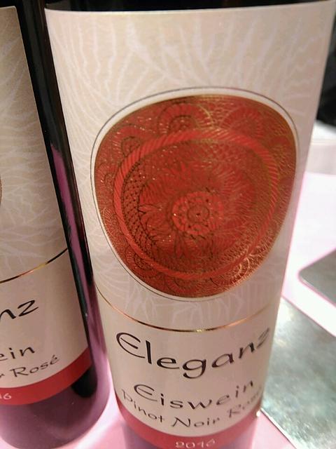 Eleganz Eiswein Pinot Noir Rosé