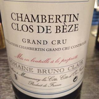 Dom. Bruno Clair Chambertin Clos de Bèze Grand Cru