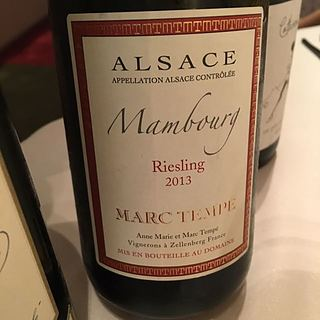 Marc Tempé Riesling Mambourg