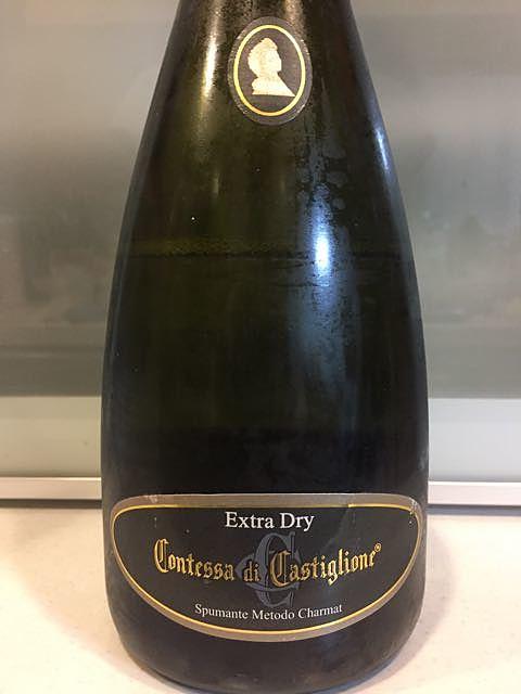 Contessa di Castiglione Spumante Metodo Charmat Extra Dry(コンテッサ・ディ・カスティリオーネ スプマンテ メトード・シャルマ エクストラ・ドライ)