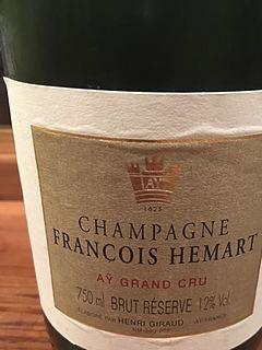 Henri Giraud François Hémart Aÿ Grand Cru Brut Réserve