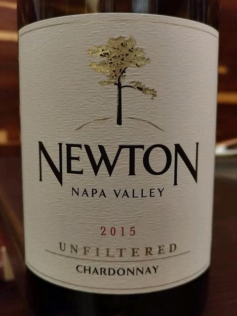 Newton Unfiltered Chardonnay(ニュートン アンフィルタード・シャルドネ)