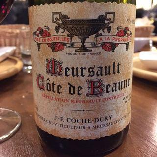 J.F. Coche Dury Meursault Rouge