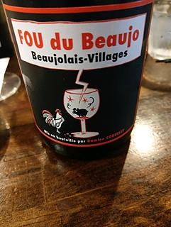 Damien Coquelet Fou du Beaujo Beaujolais Village